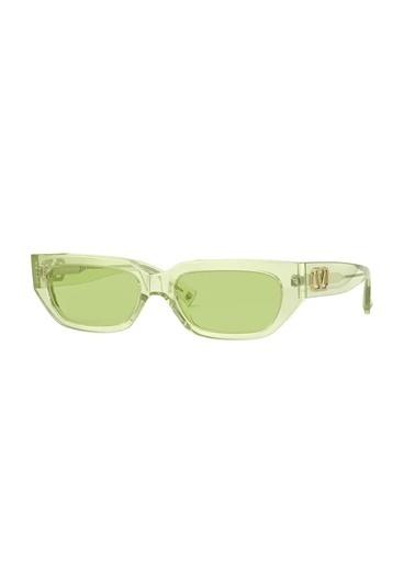 Valentino Valentino 0Va4080 5165/2 53 Ekartman Kadın Güneş Gözlüğü Yeşil